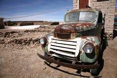 Oude auto stock afbeelding