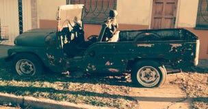 Oude auto 2 Stock Fotografie