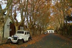 Oude Auto in Colonia del Sacramento/Uruguay Stock Foto