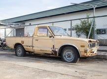 Oude auto's voor schroot. Royalty-vrije Stock Foto