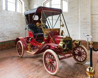 Oude Auto'stentoonstelling in Casa Loma Royalty-vrije Stock Afbeelding