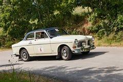 Oude auto Volvo Amazonië 121 Royalty-vrije Stock Afbeeldingen