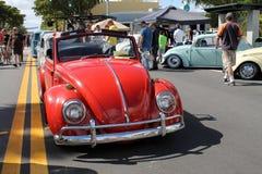 Oude autoparade Stock Foto