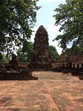 Oude Ayutthaya Thailand Stock Foto's