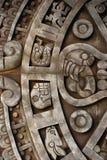 Oude Azteekse kalender Royalty-vrije Stock Afbeelding