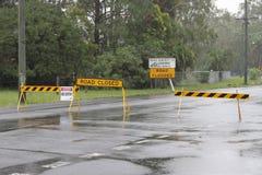 Oude baai weg gesloten Burpengay Stock Fotografie
