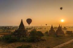 Oude Bagan, Myanmar Stock Afbeeldingen