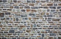 Oude baksteen of steenmuur royalty-vrije stock afbeelding