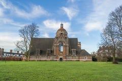 Oude baksteenkerk Stock Fotografie