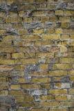 Oude baksteentextuur Stock Afbeeldingen