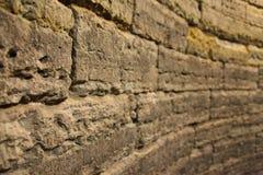 Oude bakstenen muren Stock Foto