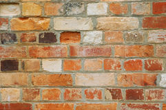 Oude Bakstenen muur 02 Stock Fotografie