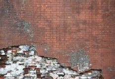 Oude bakstenen muur Stock Fotografie