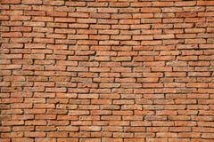 Oude bakstenen muur. Stock Foto's