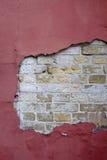 Oude Bakstenen muur Achtergrond voor uw ontwerp Stock Foto's