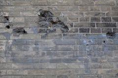 Oude Bakstenen muur Achtergrond voor uw ontwerp Stock Fotografie