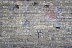 Oude Bakstenen muur Achtergrond voor uw ontwerp Stock Afbeeldingen