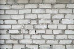 Oude bakstenen muur als achtergrond stock foto