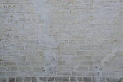 Oude bakstenen muur als achtergrond Stock Afbeeldingen