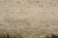 Oude bakstenen muur als achtergrond Royalty-vrije Stock Afbeeldingen