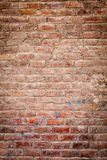 Oude bakstenen muur Royalty-vrije Stock Afbeeldingen