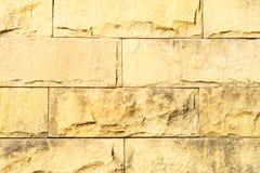 Oude bakstenen muur in een achtergrond Stock Fotografie
