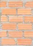 Oude Bakstenen muur het vignetvoorgevel van het vestings binnenlandse blok wallpape Royalty-vrije Stock Afbeeldingen