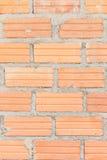 Oude Bakstenen muur het vignetvoorgevel van het vestings binnenlandse blok wallpape Royalty-vrije Stock Afbeelding