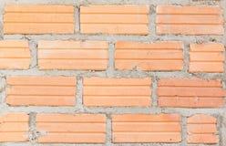 Oude Bakstenen muur het vignetvoorgevel van het vestings binnenlandse blok wallpape Stock Foto