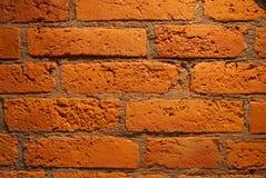 Oude bakstenen muur met houten dwarsbalk Royalty-vrije Stock Afbeelding