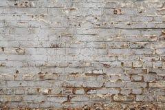 Oude bakstenen muur met plasterwork royalty-vrije stock afbeeldingen