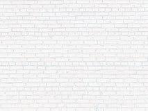 Oude bakstenen muur van witte baksteen stock foto