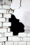 Oude bakstenen muurachtergrond Stock Afbeeldingen