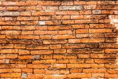 Oude bakstenen muurachtergrond royalty-vrije stock foto