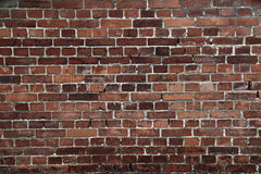 Oude bakstenen muurachtergrond Stock Fotografie