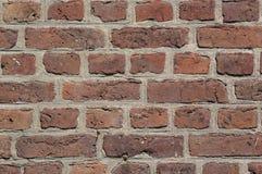 Oude bakstenen muurachtergrond of textuur Royalty-vrije Stock Afbeelding