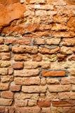 Oude bakstenen muurtextuur Royalty-vrije Stock Afbeelding