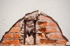 Oude bakstenen muurtextuur Royalty-vrije Stock Foto's