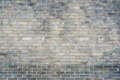 Oude bakstenen muurtextuur als achtergrond Stock Afbeeldingen