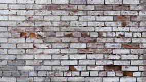 Oude bakstenen muurtextuur als achtergrond Royalty-vrije Stock Afbeelding