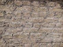 Oude bakstenen muurtextuur als achtergrond Royalty-vrije Stock Foto