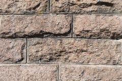 Oude bakstenen muurtextuur baksteen horizontale achtergrond in landelijke ruimte Uitstekende Metselwerkachtergrond Royalty-vrije Stock Foto's
