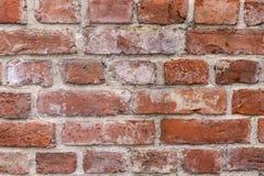 Oude bakstenen muurtextuur stock foto