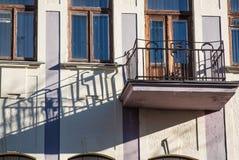 Oude balkons Stock Afbeeldingen