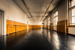 Oude balletzaal Royalty-vrije Stock Foto's