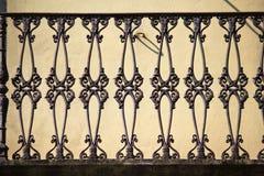 Oude Balustrade Royalty-vrije Stock Afbeelding