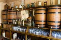 Oude bar in Noord-Ierland stock afbeelding