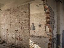 Oude barakken Stock Foto