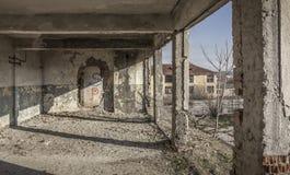 Oude barakken Stock Afbeelding