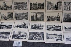 Oude beelden van Madrid Stock Foto
